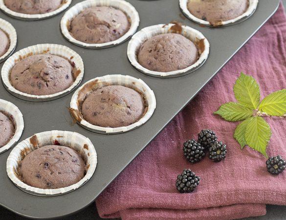 Brombær muffins | Have til Bord