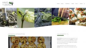 Gammel hjemmeside | Have til Bord