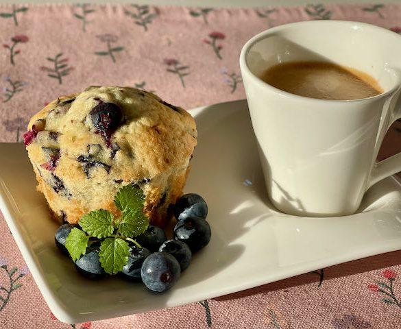 Blåbær muffins | Have til Bord